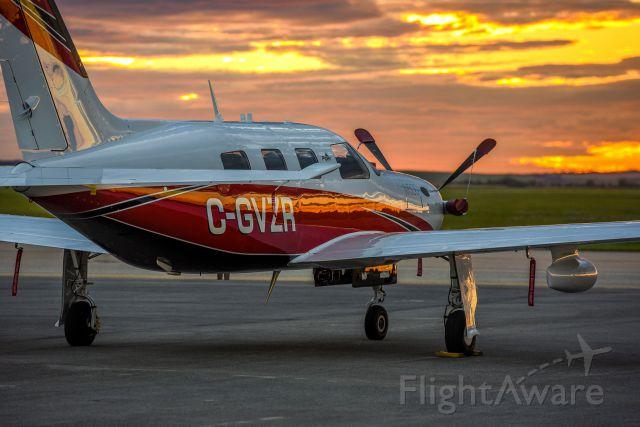 Piper Malibu Meridian (C-GVZR) - Piper M500 at the Grande Prairie Airport Swan Aero Base