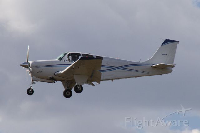 Beechcraft Bonanza (33) (N8597M) - Landing at Flagstaff Pulliam Airport, September 21 2018.