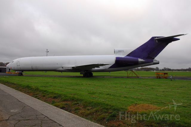BOEING 727-200 (N217FE) - this former Federal Express Boeing 727 was the last of the type to be built and arrived at Lasham to be modified for use on oil spraying duties.