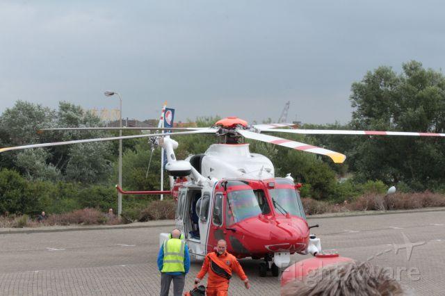 AgustaWestland AW189 (G-MCGP) - Bristow Group (UK Search and Rescue) AgustaWestland AW189, at Rescue Vlissingen, 08-16-2018