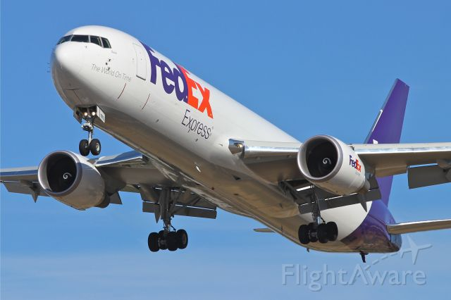BOEING 767-300 (N102FE) - Brand new at the time this was taken