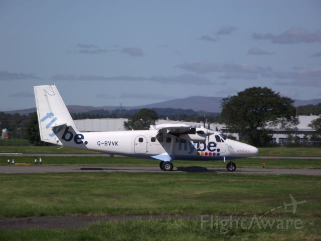 De Havilland Canada Twin Otter (G-BVVK) - Flybe