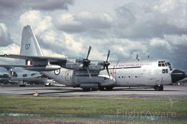 Lockheed C-130 Hercules (A97207) - RAAF Edinburgh, Sunday March 26, 1972