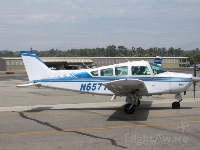Beechcraft Sundowner (N6571F) - Taxiing at Fullerton