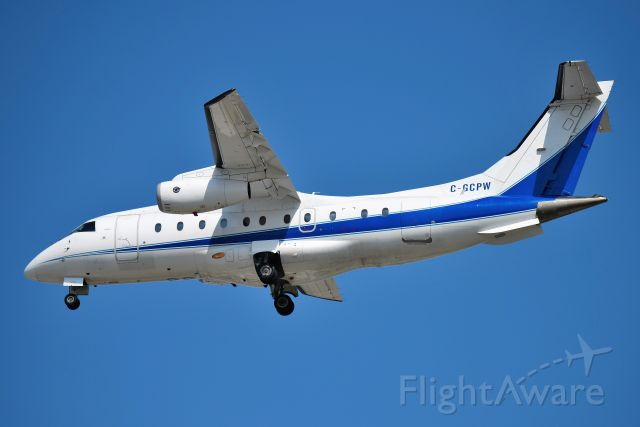 Fairchild Dornier 328 (C-GCPW) - Test bed aircraft shown arriving 23-R at KIND on 07-25-19