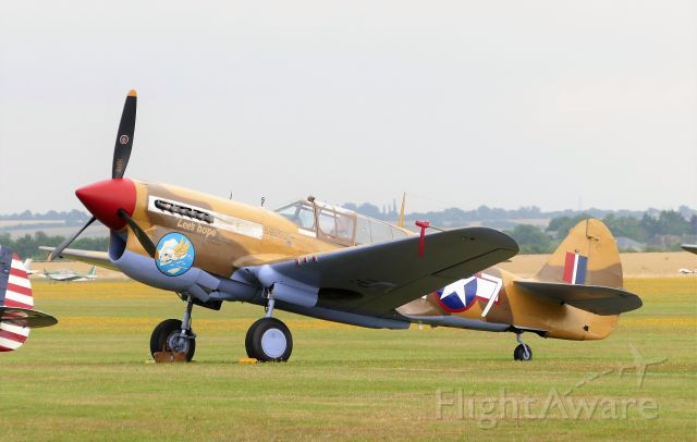G-CGZP — - Flying Legends Airshow, July 13 2019.