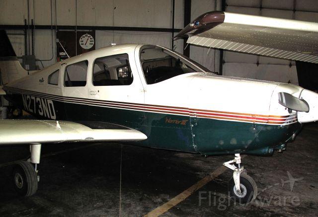 Piper Cherokee (N273ND) - Great flight school at Moore aviation!