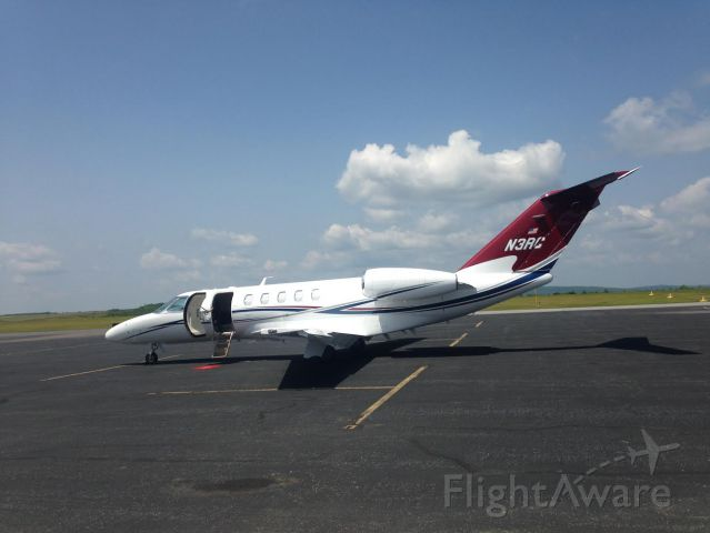Cessna Citation CJ4 (N3RC) - Richard Childress Jet at KZER for an meet and greet at Yuengling Brewery.