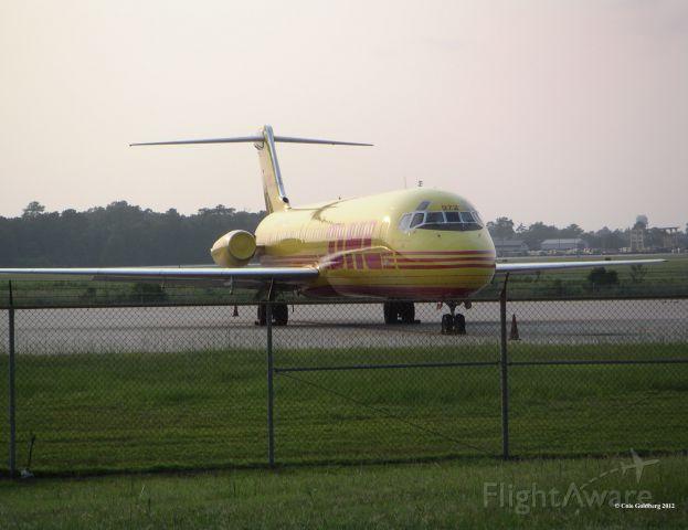 Douglas DC-9-10 (N972AX) - N972AX seen at KCHS. Please look for more photos at Opshots.net