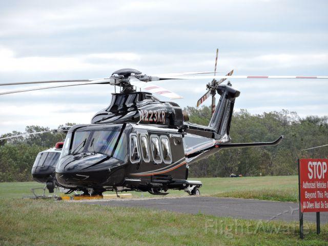 BELL-AGUSTA AB-139 (N223KR) - A 2013 Agusta Westland, fall 2019.