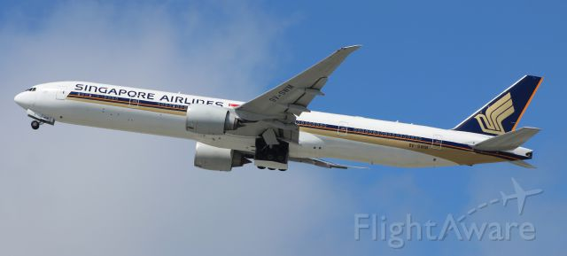 Boeing 777 (9V-SWM) - 7-17-16