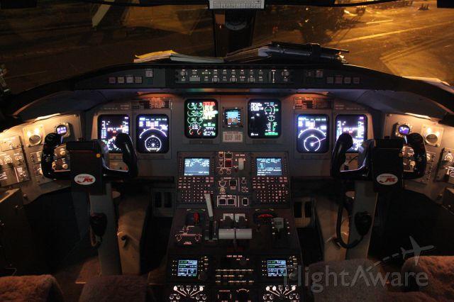 Canadair Regional Jet CRJ-100 (PK-GRH) - CRJ1000 Cockpit PK-GRH Operated by Garuda Indonesia