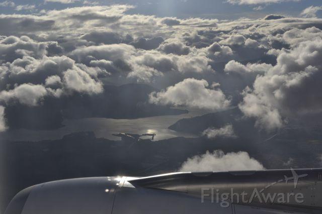 Airbus A330-200 (IB6341) - IB6341 flying over Guatemala. Final destination Guatemala City Airport