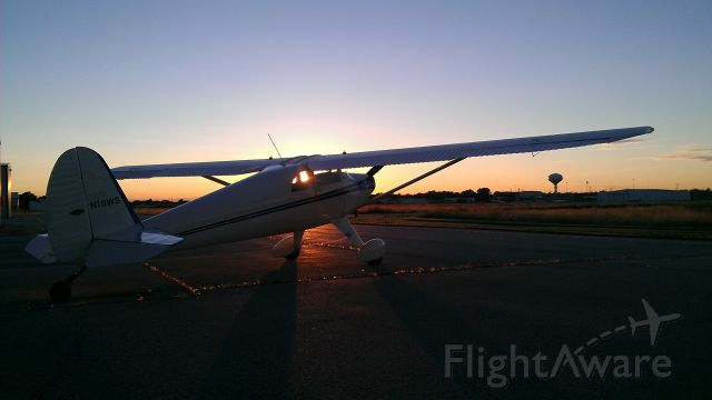 TEMCO Silvaire (N18WS) - South Apron of KIGQ before taking to the skies