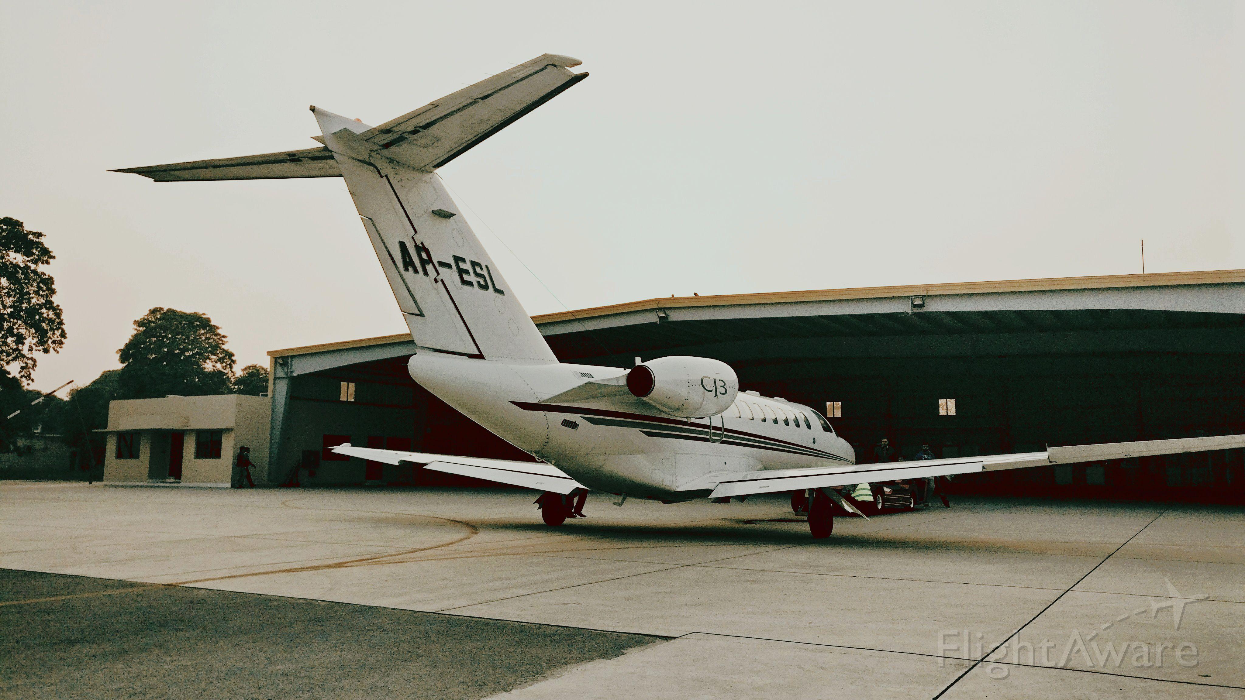 AP-ESL — - At hanger of Skyways Aviation. Owner Etihad Sugar Mills Pakistan