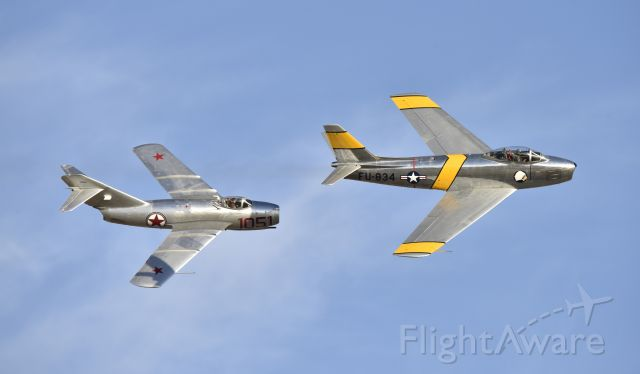 North American F-86 Sabre (N186AM) - Planes of Fame Airshow Chino CA