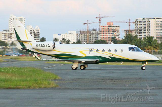 IAI Gulfstream G150 (N993AC) - Félix Bahamonde - PR Planespotters