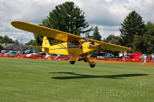 — — - NICE J3 Cub @ Wings & Wheels Sloas Airfield OH 08/13