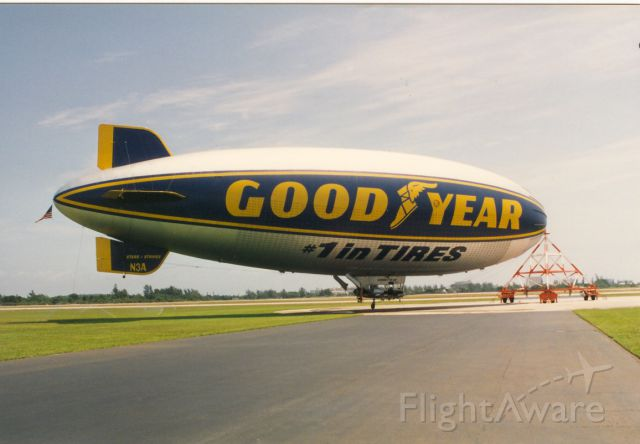 Unknown/Generic Airship (N3A) - I took this at the blimp base in Pompano Beach Fla.in 1995.