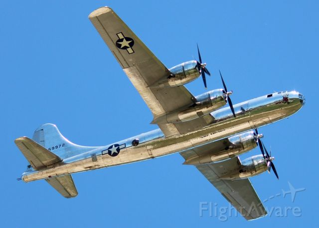 """Boeing B-29 Superfortress (N69972) - At Barksdale Air Force Base. First time seeing """"Doc"""". Stunning! First photos of """"Doc"""" on FA."""