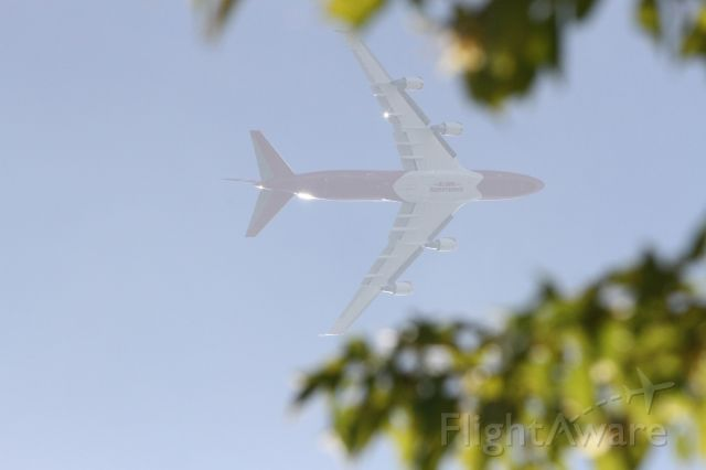 Boeing 747-400 (N744ST) - GST944 conducting firefighting operations out of McClellan on 6-AUG-2020