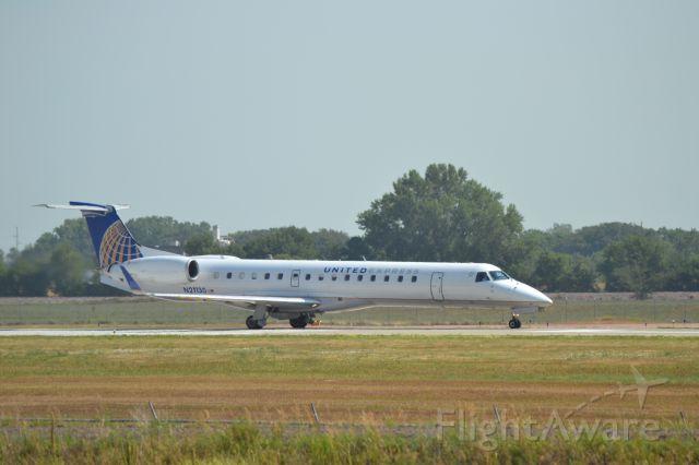 Embraer ERJ-135 (N21130) - Taking off from KFSD - 7-17-2012