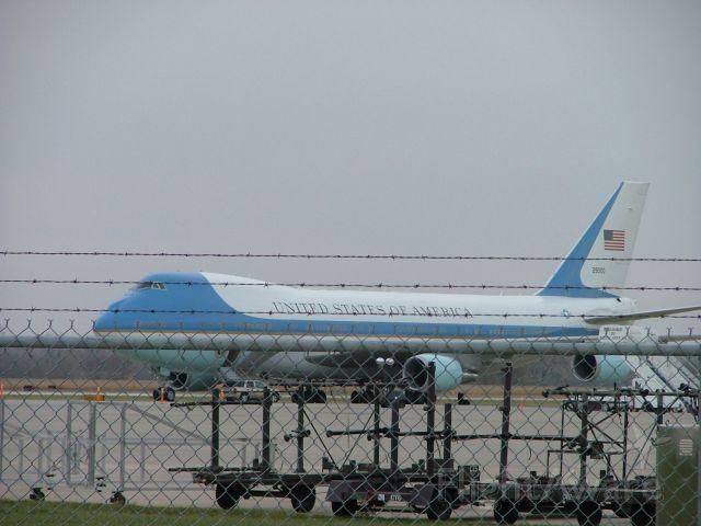 Boeing 747-200 (N28000) - Presidential Freedom