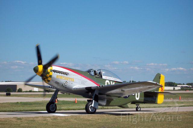 North American P-51 Mustang — - EAA 2005 P-51D Gunfighter.