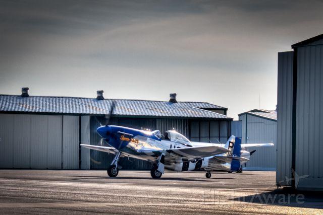 "North American P-51 Mustang (N151TP) - P-51 Mustang ""Sweetie Face"""