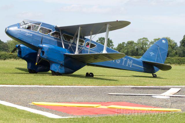 — — - De Havilland DH 90 Dragonfly.