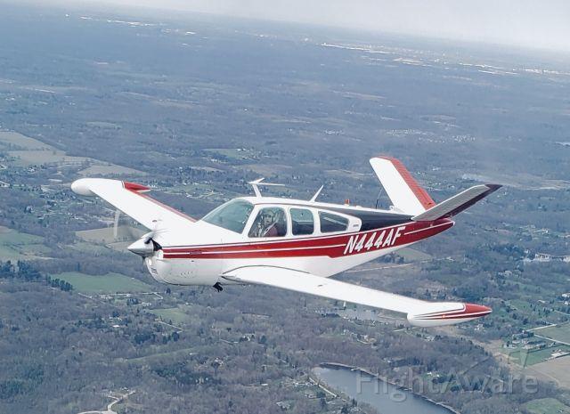 Beechcraft 35 Bonanza (N444AF)