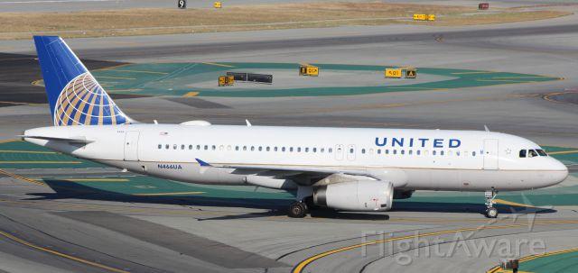 Airbus A320 (N466UA) - 8-16-16