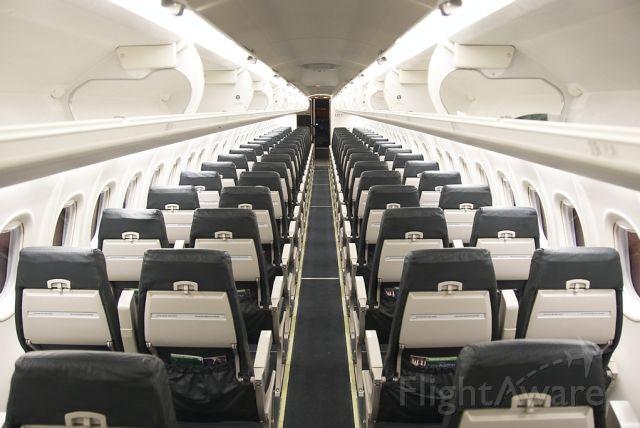 de Havilland Dash 8-400 (N502LX) - interior of aircraft 502