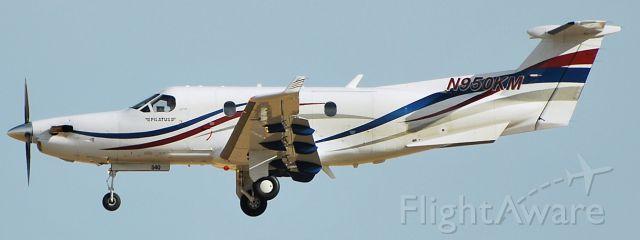 Pilatus PC-12 (N950KM)