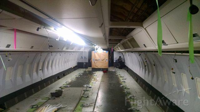 BOEING 767-200 — - Rare view of a 767 interior empty.