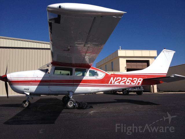 Cessna Centurion (N2263R) - N2263R flying again after a several year downtime and refurbishment