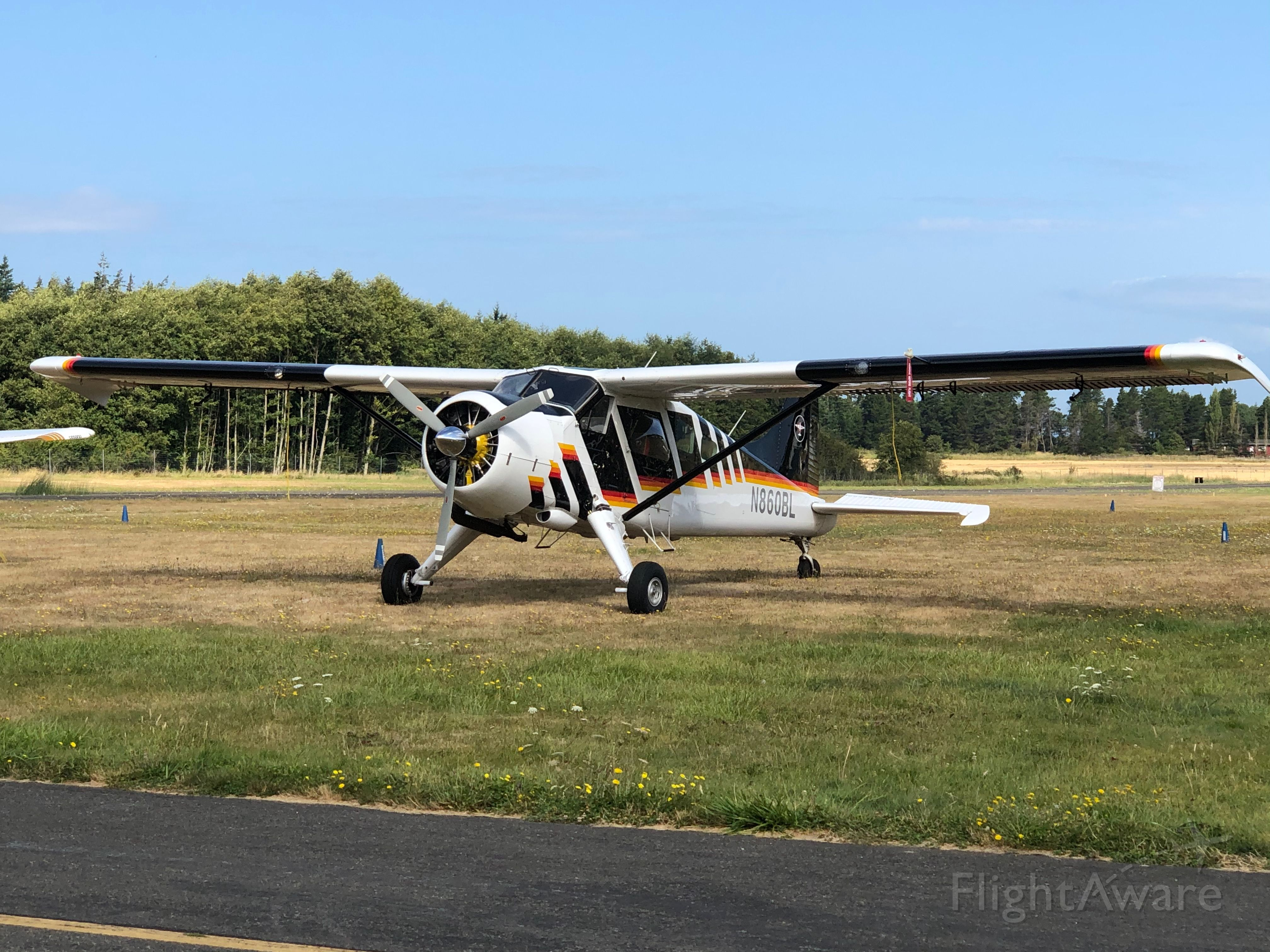 De Havilland Canada DHC-2 Mk1 Beaver (N860BL) - Spotted this beautiful 67-year-old Dehavilland Beaver at the Orcas Island airport. Spent many hours in these aircraft on Kodiak Island with both wheels and floats. As durable as a DC3.