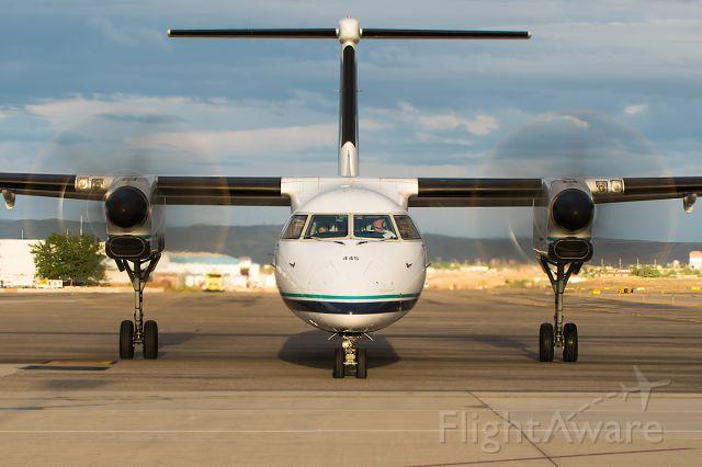 "de Havilland Dash 8-400 (N445QX) - Full tilt to PDX! Full photo!!<a rel=""nofollow"" href=""http://www.airliners.net/photo/Alaska-Airlines-Horizon/Bombardier-DHC-8-402-Q400/2675812/L/&sid=86cbe269581c7801b53ad00dc9d1357c"">http://www.airliners.net/photo/Alaska-Airlines-Horizon/Bombardier-DHC-8-402-Q400/2675812/L/&sid=86cbe269581c7801b53ad00dc9d1357c</a>"