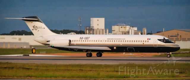 McDonnell Douglas DC-9-30 (XA-UQT) - A classic DC-9 at Greenville Donaldson Center.