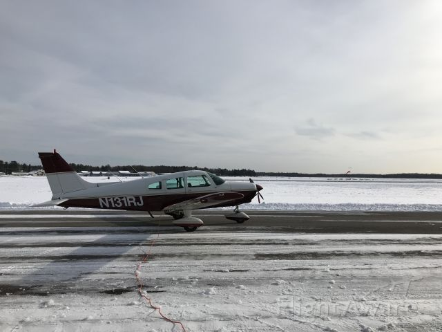 Piper Cherokee (N131RJ) - Never too cold to fly