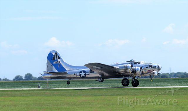 Boeing B-17 Flying Fortress (U483514F) - Visiting aircraft at KPPO 0n 8-15-2020