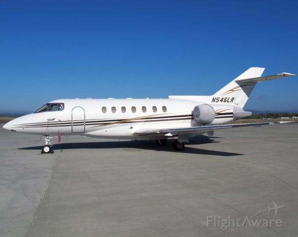 Raytheon Hawker 1000 (N546LR) - A very good business jet with a stand up cabin.
