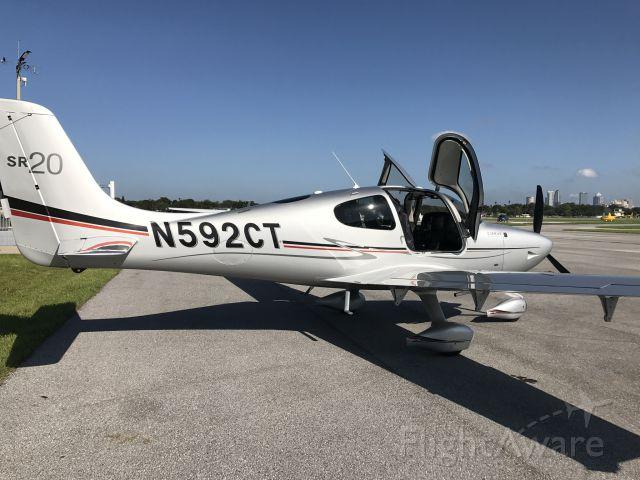Cirrus SR-20 (N592CT)