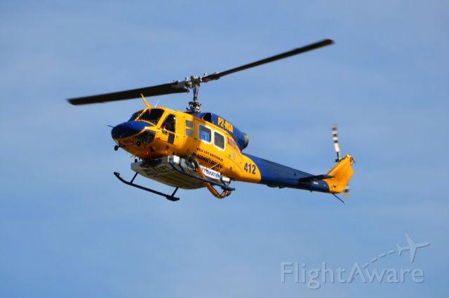 Bell BigLifter (P2-MSA) - Helitak 412 returning for the fire season, Dec 2017