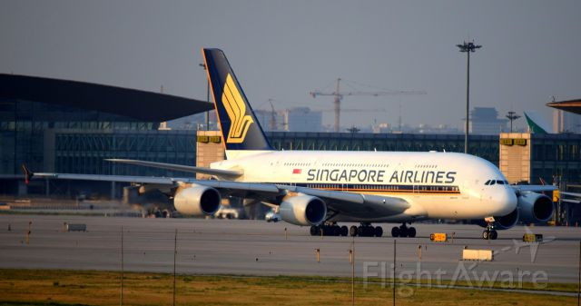 Airbus A380-800 (9V-SKK) - SQ807 9V-SKK