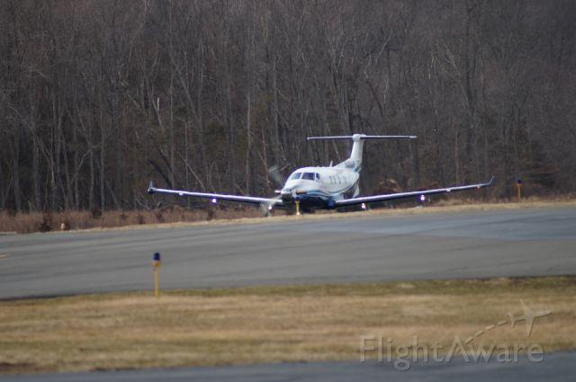 — — - Pilatus departing KSMQ.