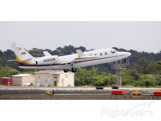 IAI 1124 Westwind (N550HB) - A westwind jet taking off.