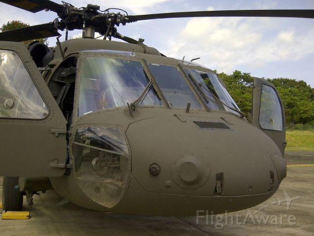 — — - BlackHawk Helicopter parking @Ramp -> Puerto Plata Intl. Airport.