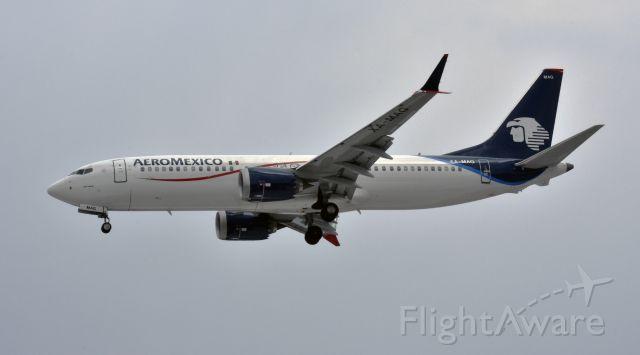 Boeing 737 MAX 8 (XA-MAG)