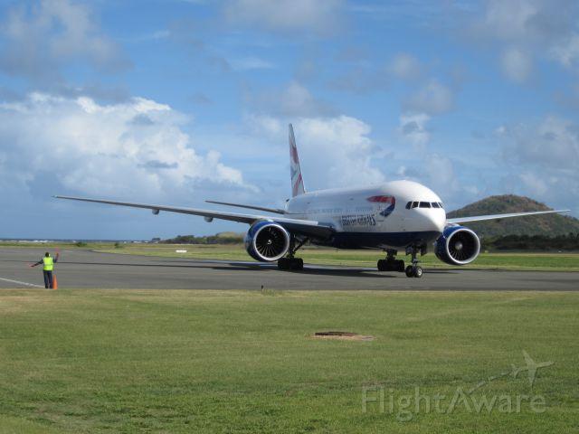 Boeing 777-200 (G-VIIO)